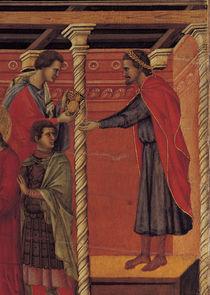 Duccio, Pilatus waescht Haende in Unschuld von AKG  Images