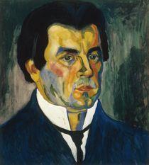 Kasimir Malewitsch, Selbstbildnis 1908 von AKG  Images