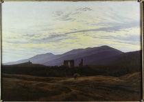C.D.Friedrich,Ruine i.Riesengebirge/1815 von AKG  Images