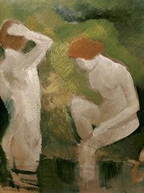 A.Macke, Badende am gruenen Abhang von AKG  Images
