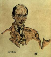 Arnold Schoenberg / Zng.v.Schiele von AKG  Images