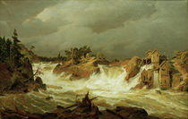 Andreas Achenbach / Trollhaettanfaelle. by AKG  Images