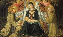B.Gozzoli, Maria mit Kind u.Heiligen by AKG  Images