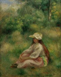 A.Renoir, Rosa gekleidetes Maedchen by AKG  Images