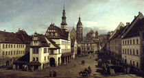 Pirna, Marktplatz / Bellotto by AKG  Images