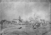 Alfred Sisley, Vue de Moret von AKG  Images