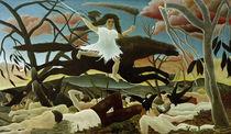 H.Rousseau, Der Krieg by AKG  Images