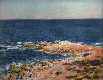 C.Monet, Die Grande Bleue in Antibes by AKG  Images