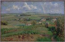 C.Pissarro, Regenbogen, Pontoise by AKG  Images