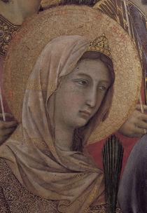 Duccio, Maesta, Hl.Katharina von Alex. von AKG  Images