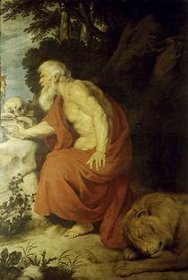 P.P.Rubens, Der heilige Hieronymus by AKG  Images