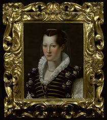 Isabella di Cosimo de' Medici / Bronzino by AKG  Images