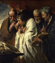 J.Jordaens, Vier Evangelisten by AKG  Images
