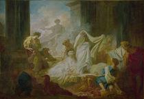 J.H.Fragonard, Koresos und Kallirhoe von AKG  Images