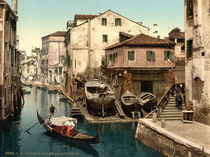 Venedig, Rio della Botisella /Photochrom von AKG  Images