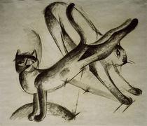Franz Marc, Spielende Katzen von AKG  Images