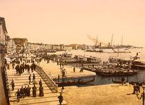 Venedig, Riva degli Schiavoni / Fot.1895 von AKG  Images