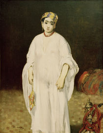 E.Manet, Junge Frau in orient.Kostuem by AKG  Images