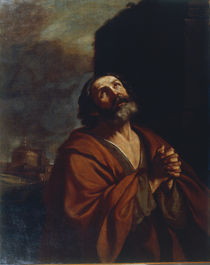 Guercino, Der reuige Petrus by AKG  Images