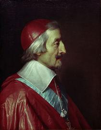 Kardinal Richelieu / Gem. v. Champaigne by AKG  Images