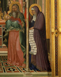 A.Lorenzetti, Darstellung,Simeon u.Hanna by AKG  Images