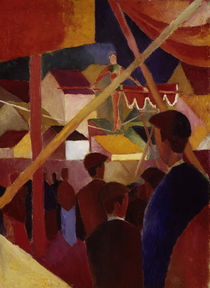 August Macke, Der Seiltaenzer by AKG  Images