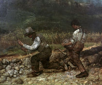 G.Courbet, Die Steineklopfer by AKG  Images