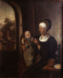 Jan Steen/ Mutter und Kind/Fruehwerk by AKG  Images