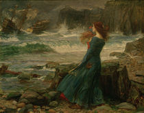 Shakespeare, Der Sturm / Waterhouse von AKG  Images