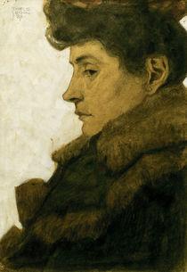 Egon Schiele, Bildnis Marie Schiele by AKG  Images