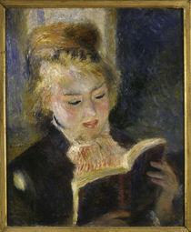 A.Renoir, Lesendes Maedchen von AKG  Images