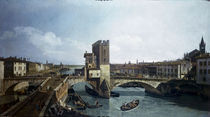 Verona, Ponte delle Navi / Bellotto von AKG  Images