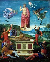 Raffael, Auferstehung Christi by AKG  Images