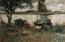 Gauguin, Flussufer/ 1881 von AKG  Images