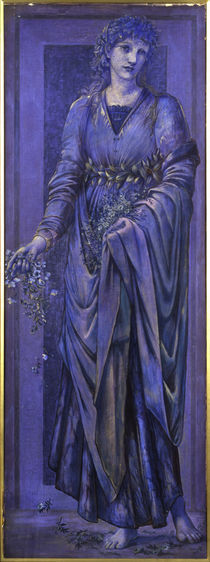 E.Burne Jones, Flora von AKG  Images
