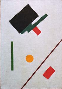 K.Malewitsch, Suprematismus (Skizze) von AKG  Images