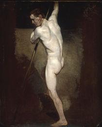 J.Constable, Aktstudie stehender Mann von AKG  Images