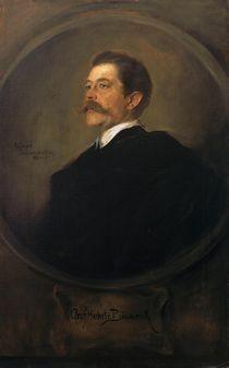 Herbert von Bismarck / Gem.v.Lenbach von AKG  Images