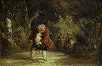 C.Spitzweg, Der verhinderte Kavalier by AKG  Images