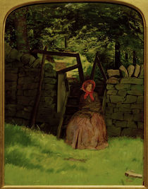 J.E.Millais, Waiting von AKG  Images