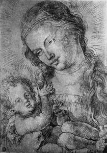 A.Duerer, Maria mit Kind in Halbfigur von AKG  Images
