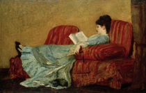 M.Cassatt, Junge Frau, lesend by AKG  Images