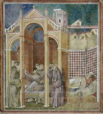 Giotto, Franziskus erscheint Augustinus by AKG  Images