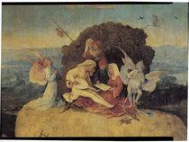 H.Bosch, Der Heuwagen, Ausschnitt von AKG  Images