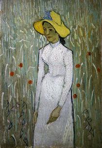 V.van Gogh, Junges Maedchen vor Weizenf. by AKG  Images