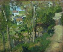 C.Pissarro, Der Bergweg, L'Hermitage von AKG  Images
