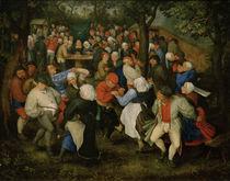 J.Brueghel d.Ae., Hochzeitstanz by AKG  Images