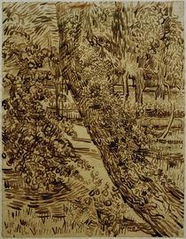 v.Gogh, Baum mit Efeu im Garten... by AKG  Images