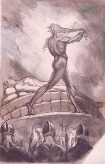 J.H.Fuessli, Achilles opfert sein Haar von AKG  Images