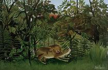 H.Rousseau, Der hungrige Loewe von AKG  Images